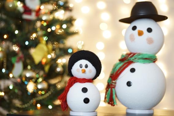 foto boneco de neve